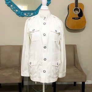 Liz Claiborne Women's Military Utility Jacket